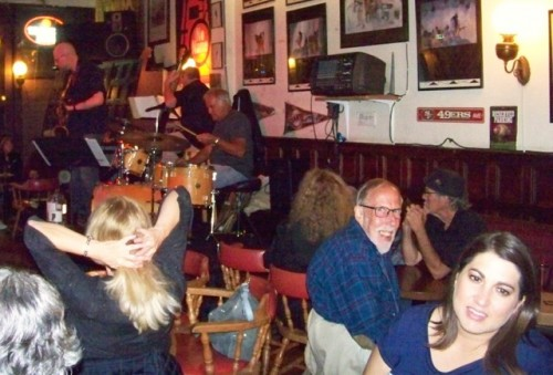 Dave Mitchell at the No-Name Bar in Sausalito