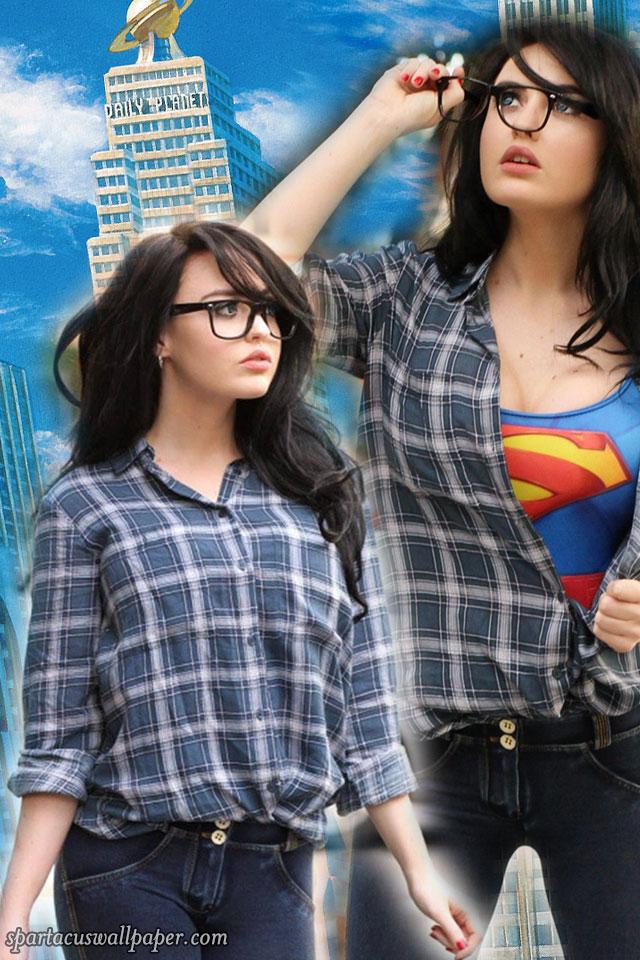 Iphone 6 Lock Screen Wallpaper Girl Supermaryface Supergirl Desktop Backgrounds Mobile