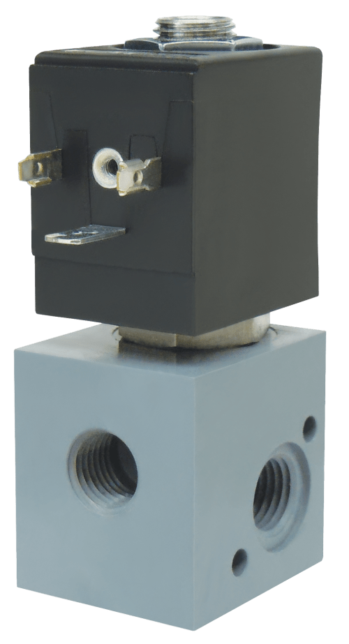 small resolution of the spartan scientific series 4290 is a 2 way 3 way 2 position normally closed or normally open solenoid valve for electrical control of air caustics