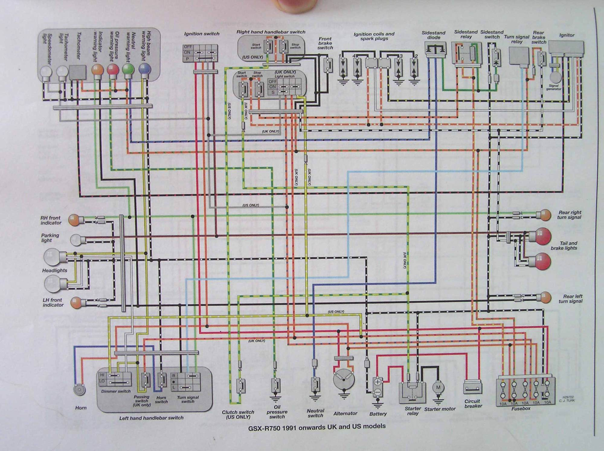hight resolution of wiring diagram for 2001 suzuki tl 1000 library wiring diagramwiring diagram for 2001 suzuki tl 1000