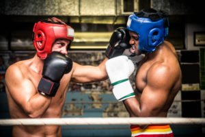 Boxing Lessons -Sparring session