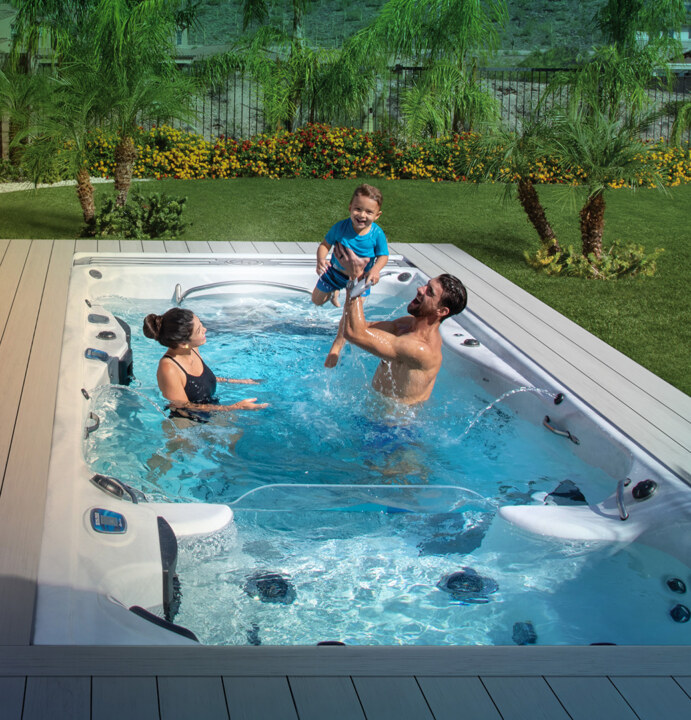 Michael Phelps Signature Swim Spas by Master Spas