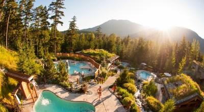 Summer View, Scandinave Spa Whistler, Spas of America