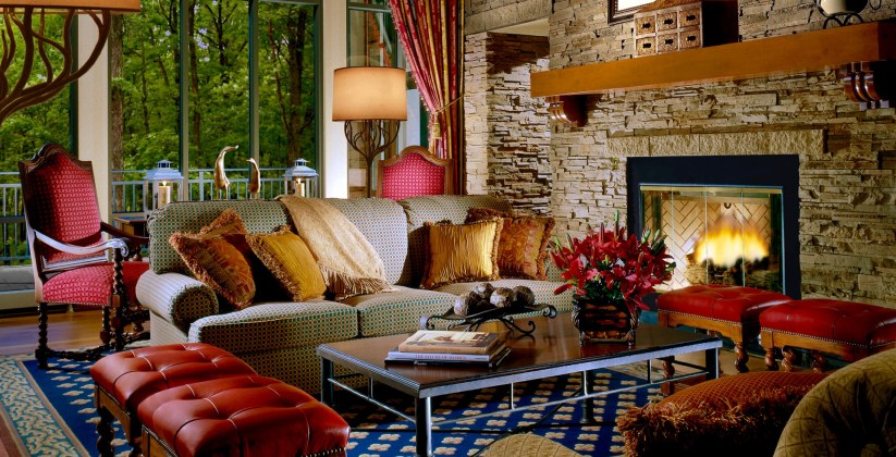 Living Room, The Lodge at Woodloch, Spas of America