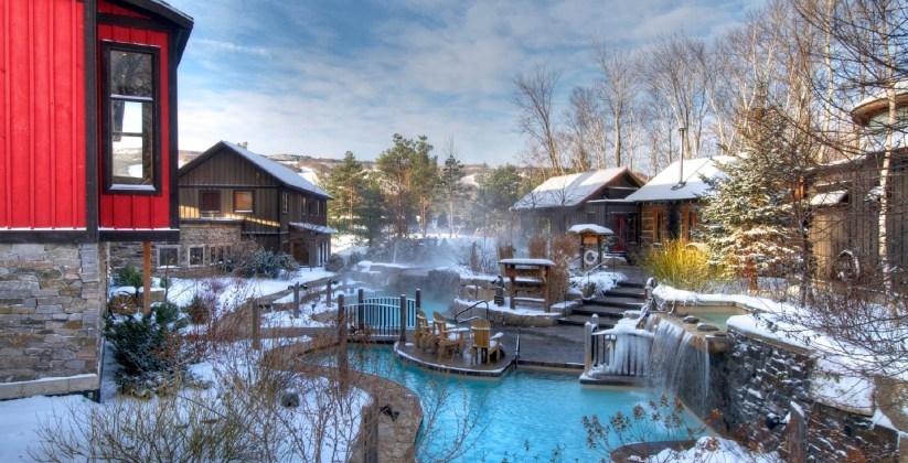 Scandinave Blue Mountain, Spas of America