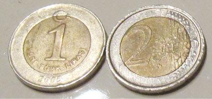 Türkische Lira Münzen