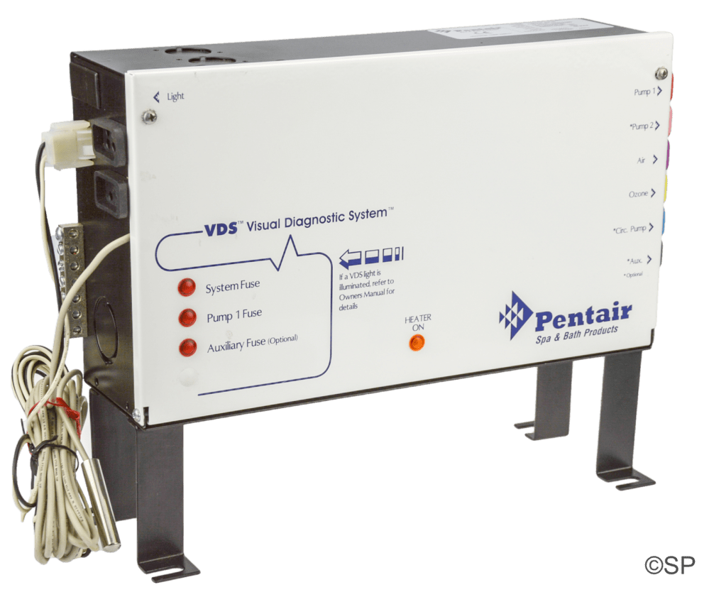 medium resolution of hydroquip pentair control pack vds versi heat system eco 3 series 6 button panel compatible 2 pump system