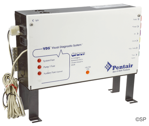 small resolution of hydroquip pentair control pack vds versi heat system eco 3 series 6 button panel compatible 2 pump system