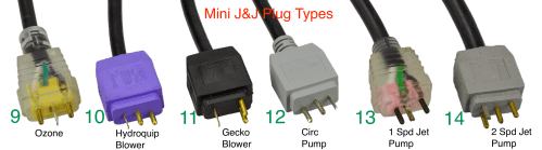 small resolution of plug lead type mini j j jj air blower hydroquip spa packs opposite to circ pump 11 plug lead type mini j j jj air