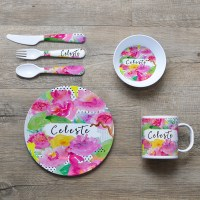 Personalized Kids Dinner Plates & Personalized Dress Up ...