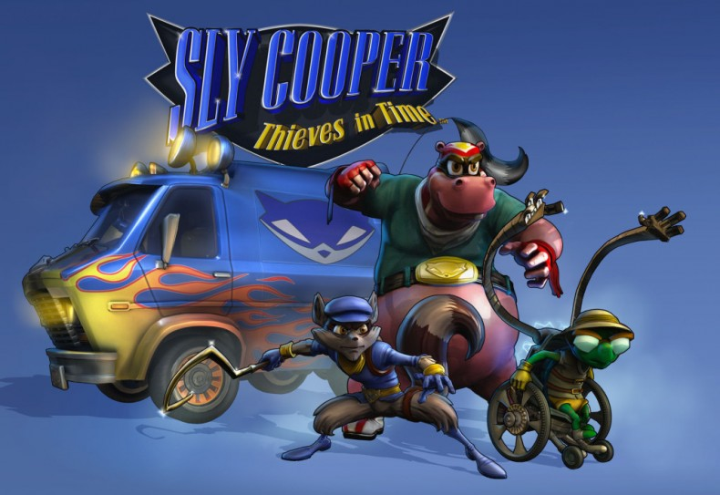 sly cooper movie set