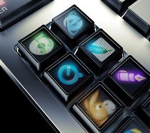 Clavier OLED Optimus
