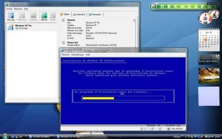 Installation de Windows XP sous Windows Vista