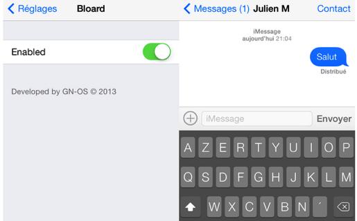 Bloard iOS7