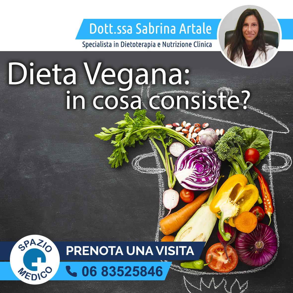 Dieta vegana Dott.ssa Sabrina Artale