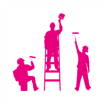 men at work fucsia