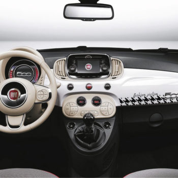 Adesivi per auto interni fiat 500 fashion victim
