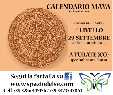 Calendario Maya Nascita.29 09 2018 Calendario Maya Spazio Del Se Centro Olistico