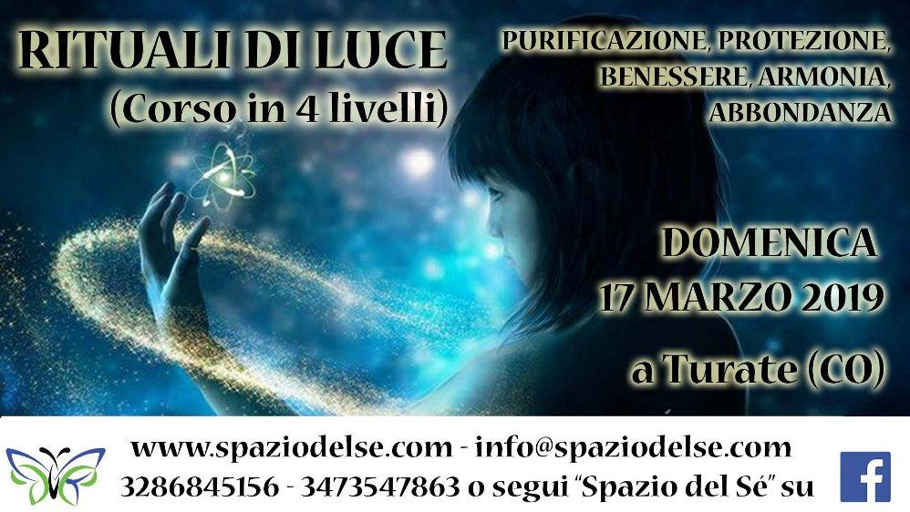 17/03/2019 - Rituali di Luce