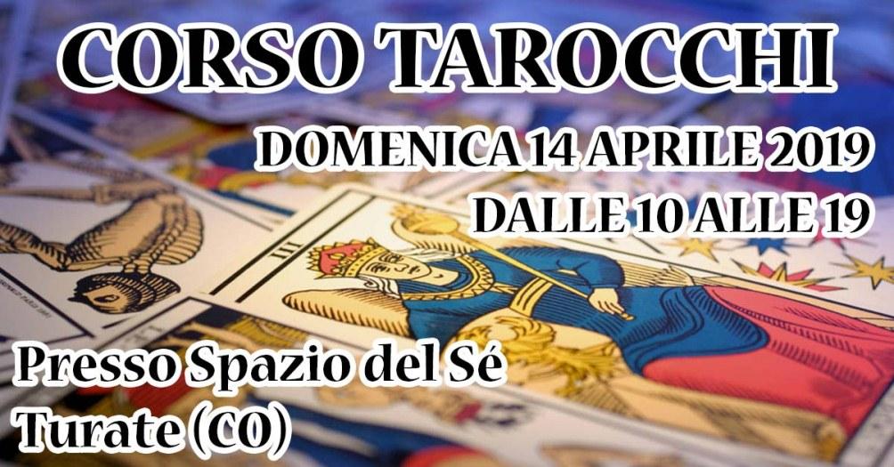 14/04/2019 - Corso Tarocchi