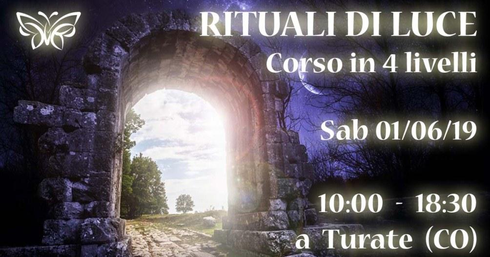 01/06/2019 - Rituali di Luce