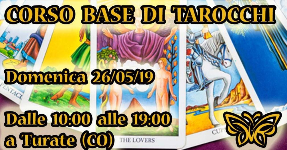26/05/2019 - Corso Tarocchi