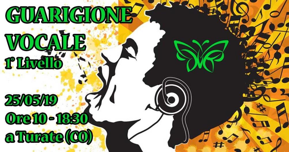 25/05/2019 - Corso di Guarigione Vocale