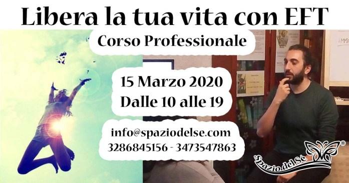 15/03/2020 - Corso Tecnica di Libertà Emotiva (EFT)