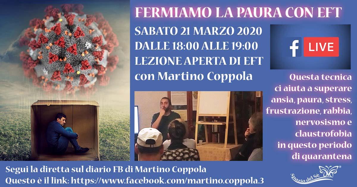 21/03/2020 - Fermiamo la paura con EFT