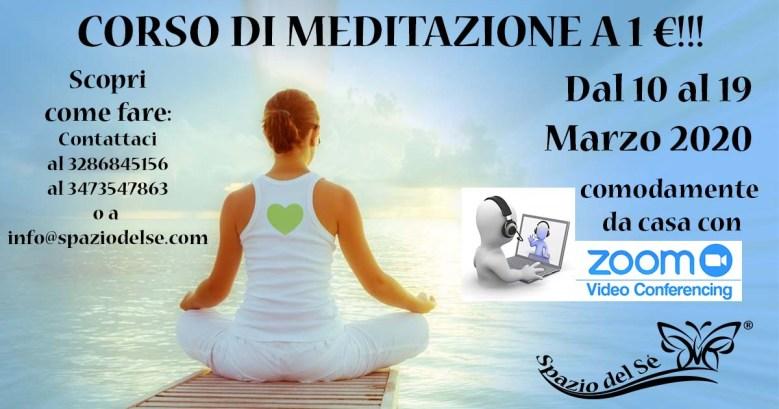 Corso di Meditazione a 1 €