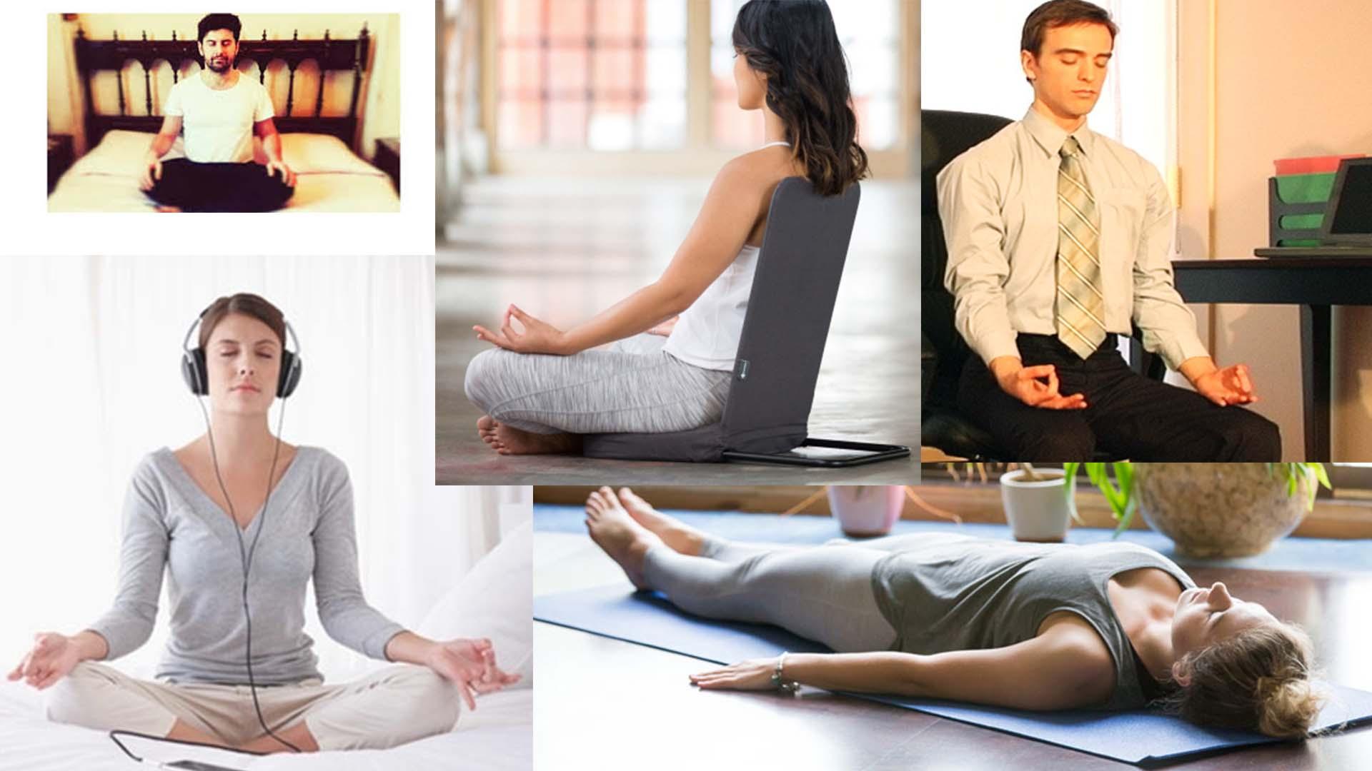 Meditare per vivere più a lungo senza stress
