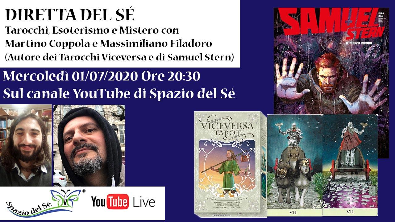 01/07/2020 - Diretta con Massimiliano Filadoro (Viceversa e Samuel Stern)