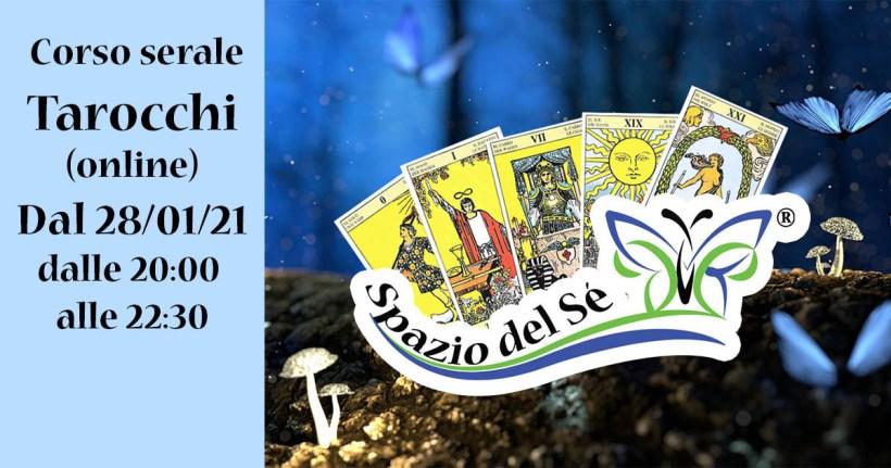 Dal 28/01/21 - Corso Serale Tarocchi (online)