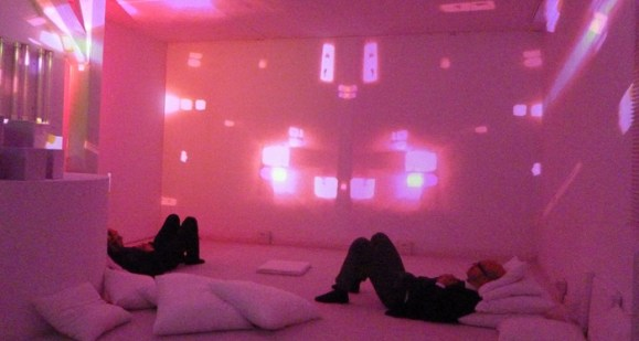 Spazioersetti - The Dream - sound and light environment - foto: Continuo