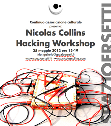 Hacking workshop con Nicolas Collins