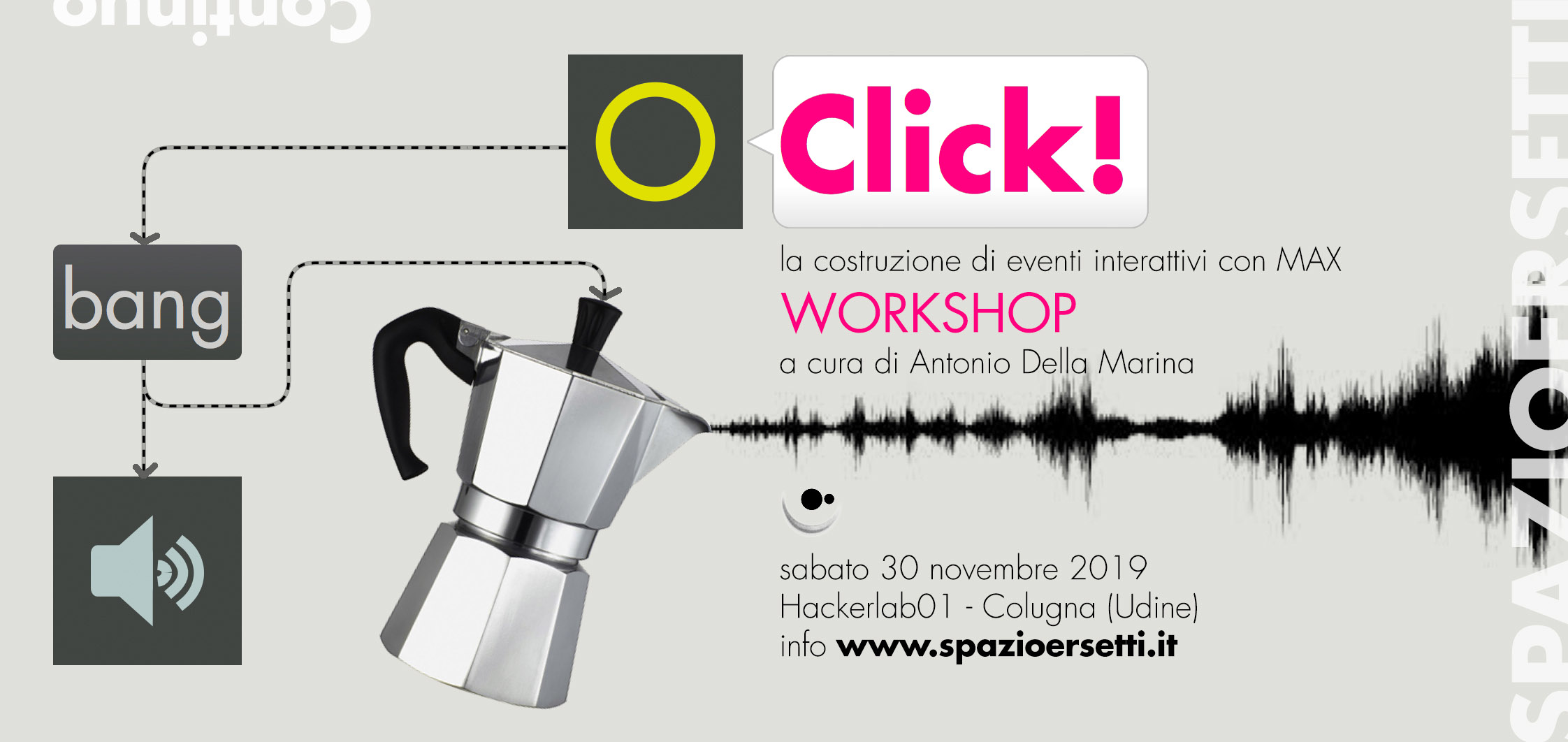 CLICK! CLICK! BANG! BANG! – workshop