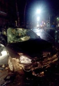 incidente stradale apricena 19 Aprile 2015