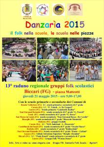 Locandina Danzarìa 2015