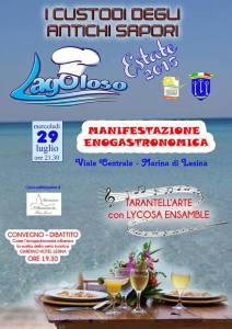 locandina Lagoloso Estate 2015