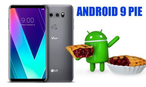 Android 9 Pie per LG