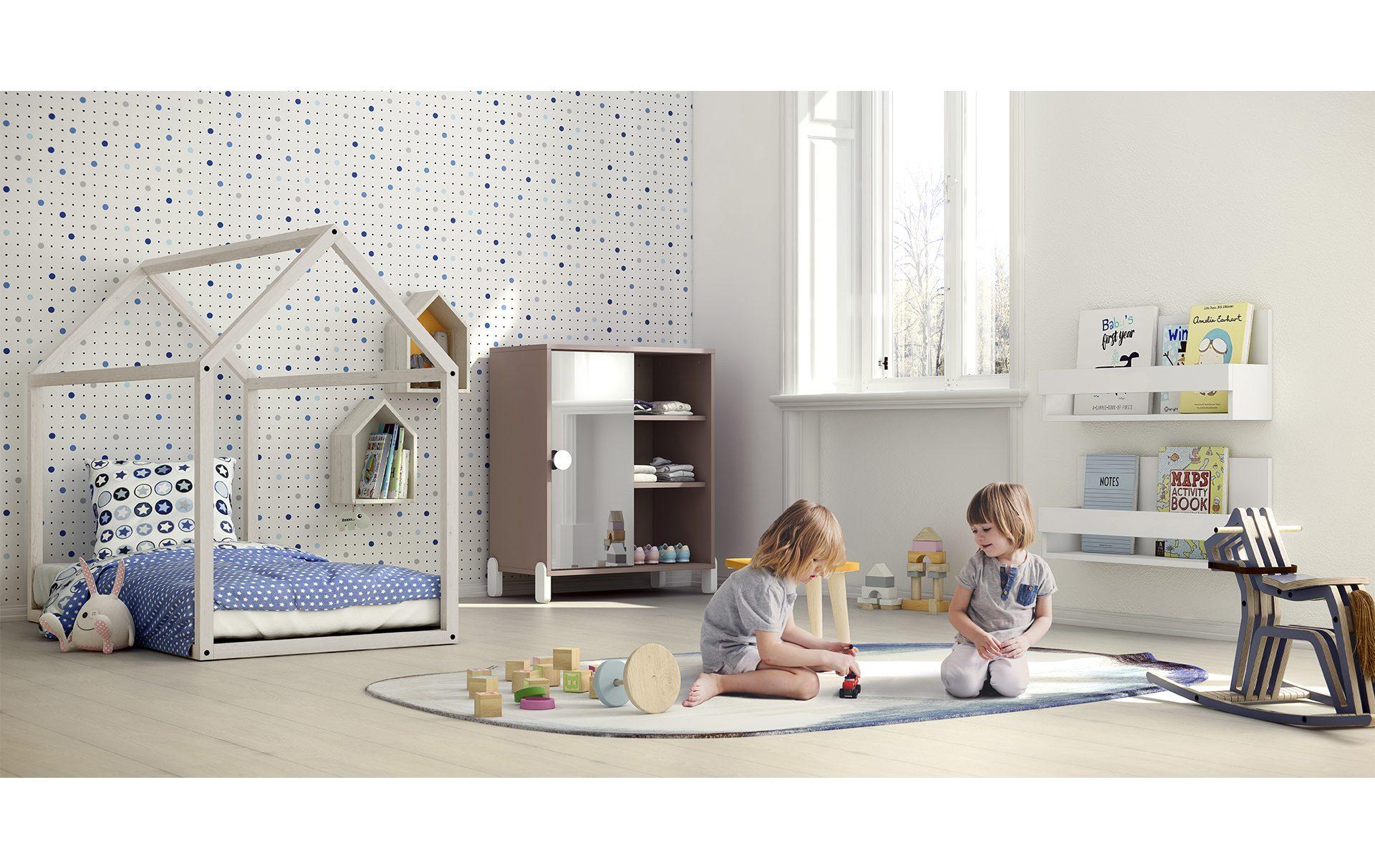Cameretta Montessori  Spaziojunior