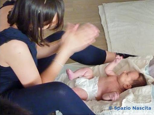 corso massaggio neonato
