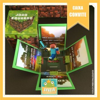Scrapbook Minecraft - Game Infantil
