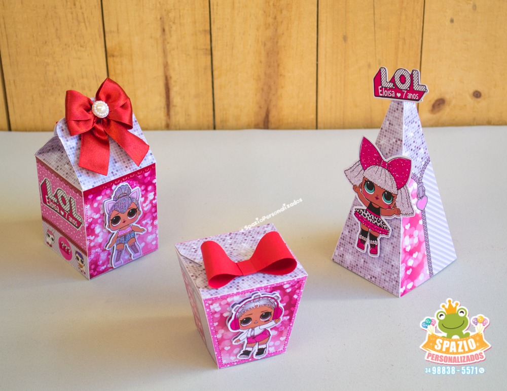 Kit - Tema Boneca LOL Surprise - 02