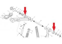 Rodamientos, Retenes y Casquillos para el Basculante de