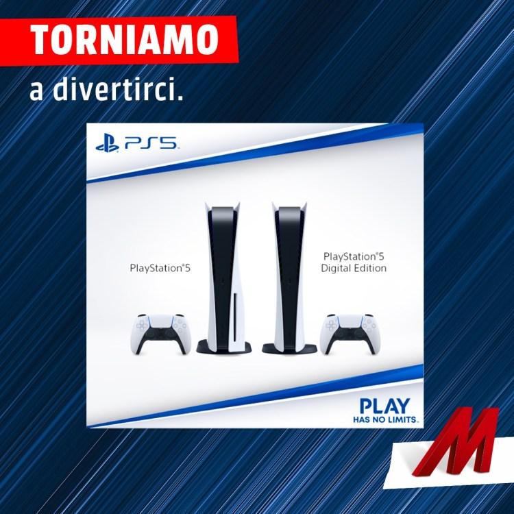 PS5 disponibile da MediaWorld il 19, 20 e 21 luglio 2021 | Spazio Tech Italia