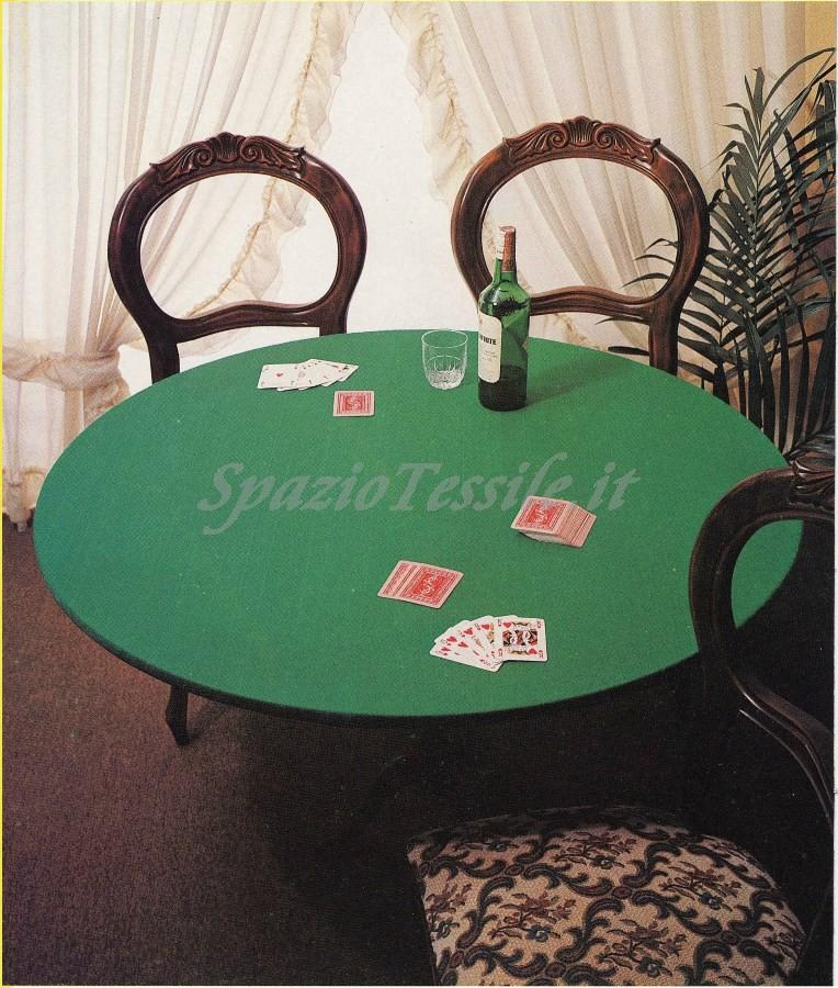 Copritavolo Mollettone tavolo verde joker