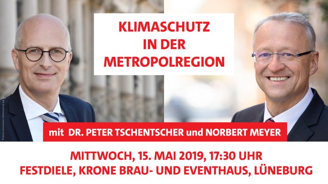 Wahlkampf, SPD, Hamburg, Lüneburg, Metropolregion, Klimaschutz, Umweltschutz, Artenvielfalt, Diskussion, Norbert Meyer, Dr. Peter Tschentscher