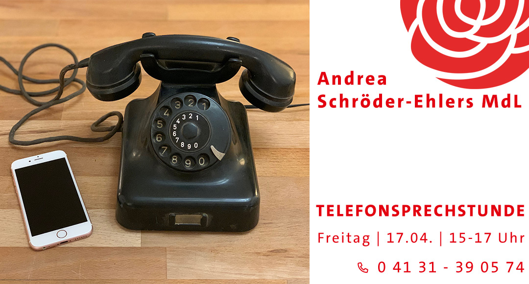 Telefonsprechstunde Andrea Schröder-Ehlers
