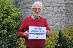 Achim Fölster ist der Vorsitzende der SPD-Arbeitsgemeinschaft Stadtmitte.